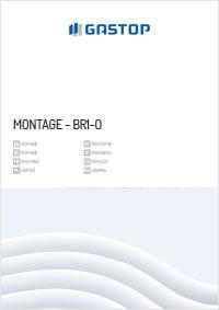 Mechanische schwenktür - MONTAGE-BR1-O