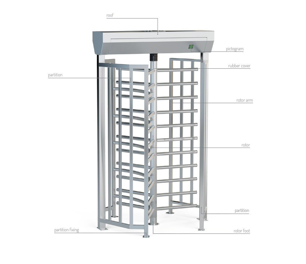 description turnstile ba3-1-3