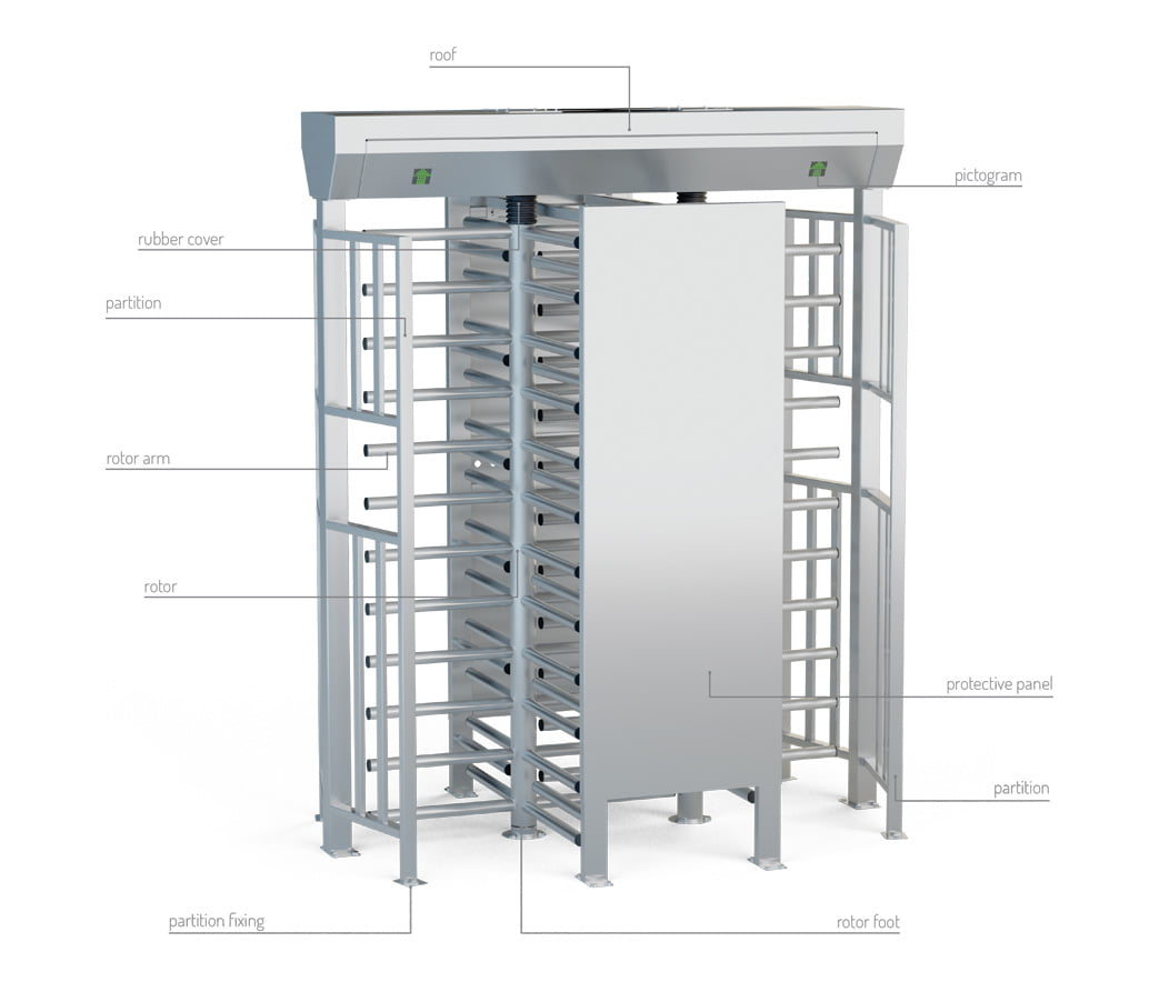 description turnstile ba3-2-s