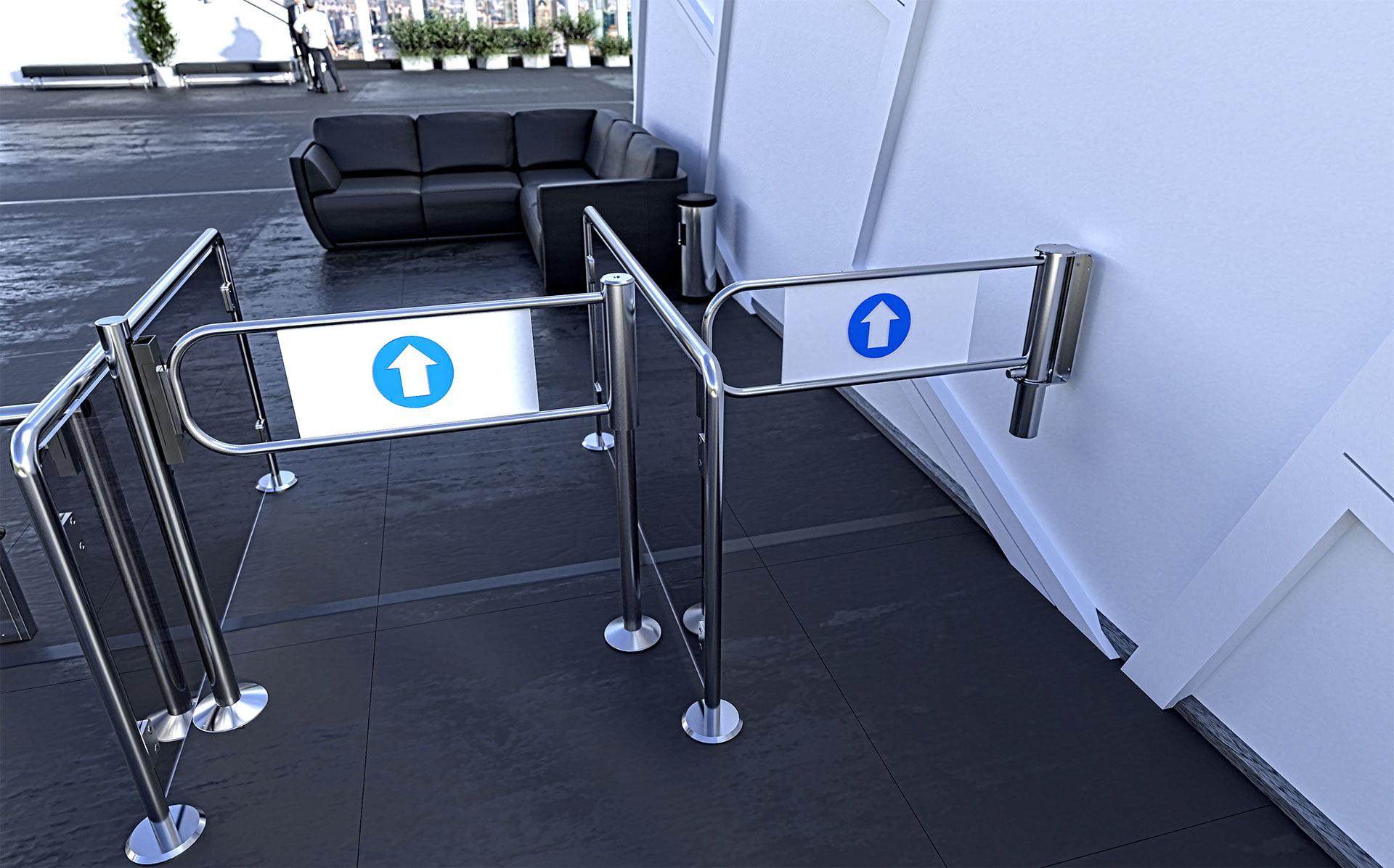 swing gates BR1-U gastop