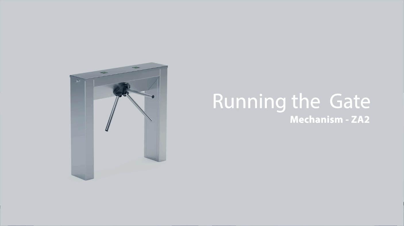 running ZA2 turnstile
